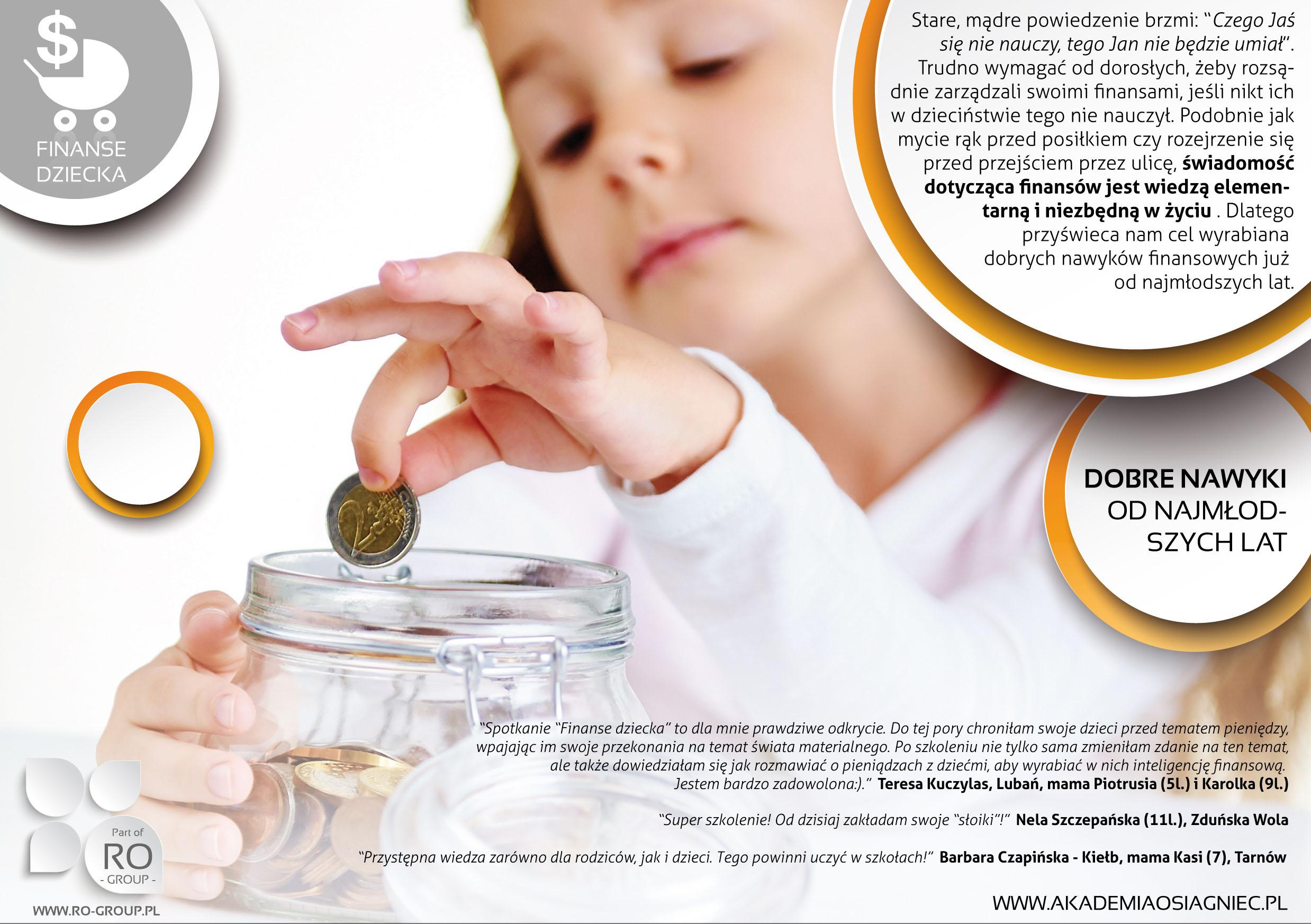 Finanse Dziecka Akademia Osiągnięć