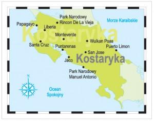 kostaryka_mapa