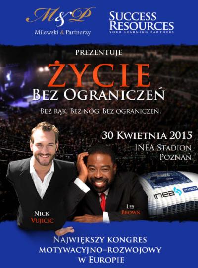 Nick Vujicic w Polsce