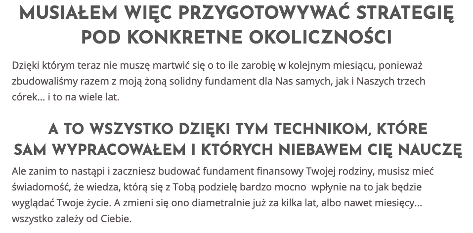 Trening Finanse Bez Tajemnic Akademia Osiagniec