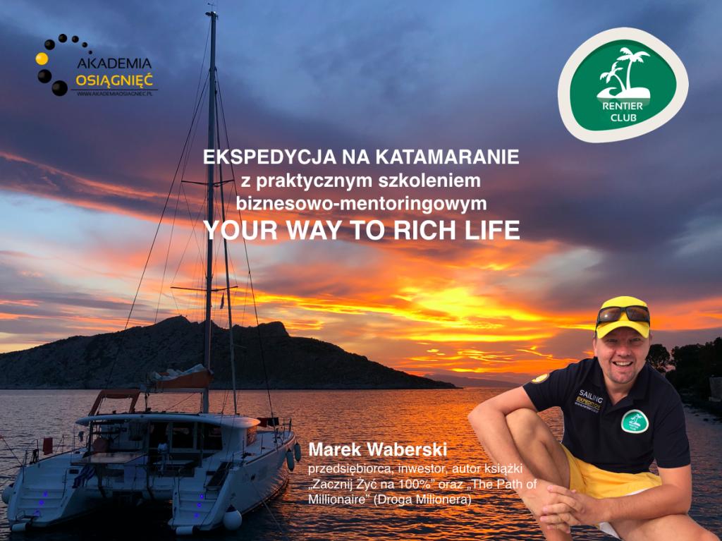 Ekspedycja szkoleniowa na katamaranie Akademia Osiagniec