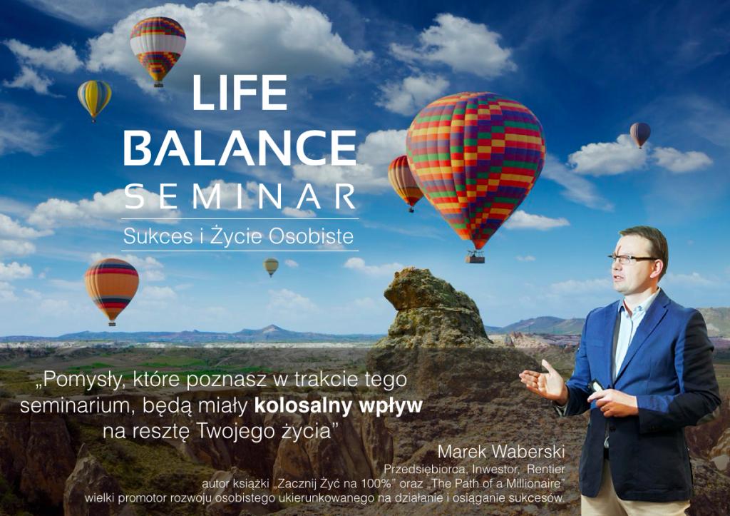 Life Balance Seminar Akademia Osiagniec